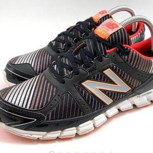 New Balance 750 V1 Black Running Shoes EUC 8